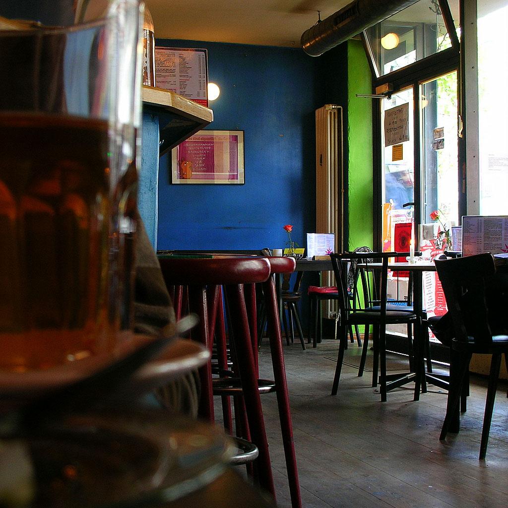 Cafe Morgenrot, Kastanienallee, Berlin