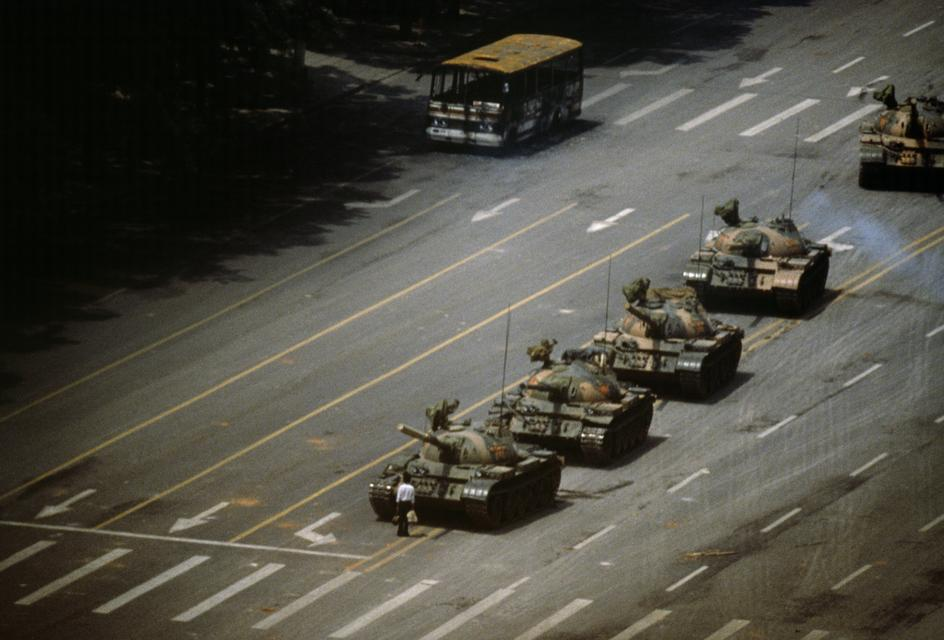 Stuart Franklin . Tiananmen Square . Beijing, China . 1989