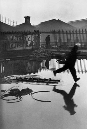 Henri Cartier-Bresson, FRANCE. 1932. Paris. Place de l'Europe. Gare Saint Lazare.