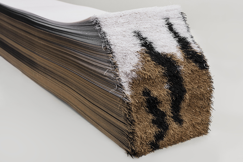 虎变-1(局部) 纸 10cmX14cmX110cm 2015